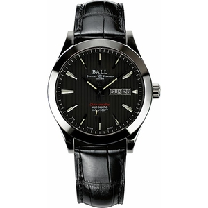 BALL Engineer II Chronometer Red Label GMT 40 мм GM2026C-LCJ-BK