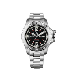BALL Engineer Hydrocarbon Spacemaster Captain Poindexter DM2036A-S5CA-BK